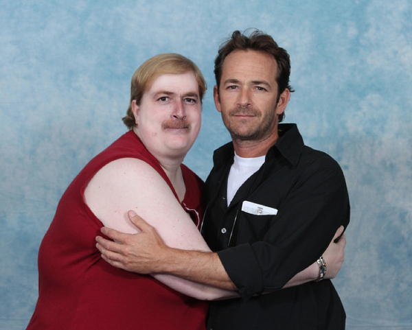 Luke Perry with Luke Perry 1