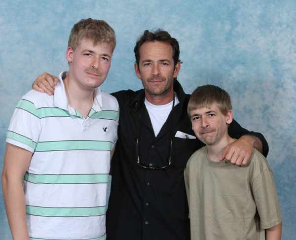 Luke Perry with Luke Perry 16
