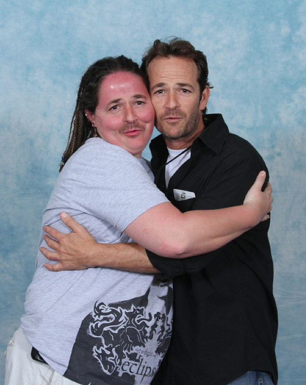 Luke Perry with Luke Perry 17