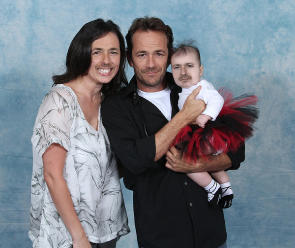 Luke Perry with Luke Perry 18