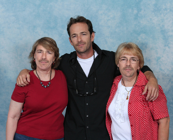 Luke Perry with Luke Perry 20