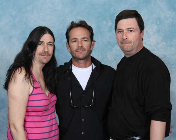 Luke Perry with Luke Perry 21