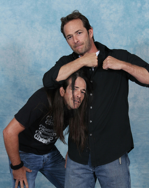 Luke Perry with Luke Perry 6