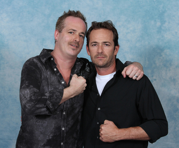 Luke Perry with Luke Perry 8